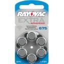 Rayovac Extra Advanced Misura 675 PR44 Colore Blu