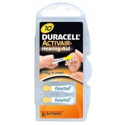 Pile Duracell Activair Easytab Misura 10 Pr70