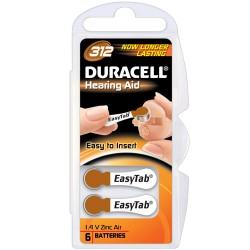 60 Pile Duracell Activair Mod. 312 Colore Marrone