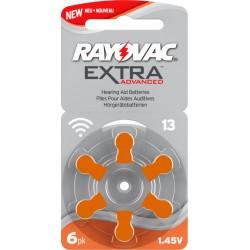 Rayovac Extra Advanced misura 13 PR48 Colore Arancione