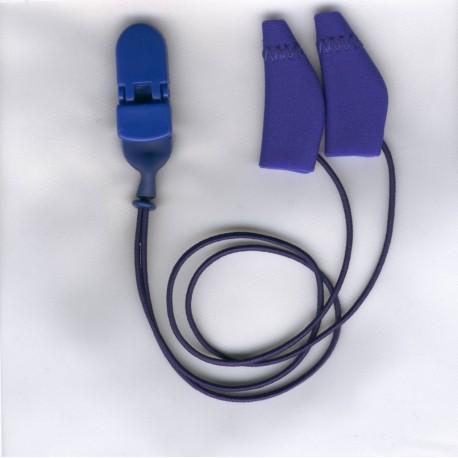 Ear Gear Mini Curved con corda ArancioneRosso