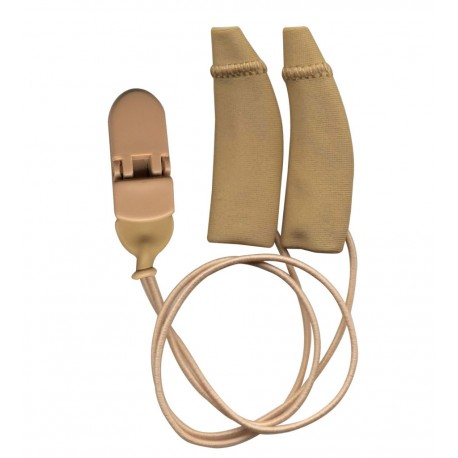 Ear Gear Grandi Curved con corda Beige