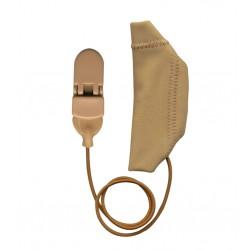 Ear Gear per impianti cocleari con corda Beige
